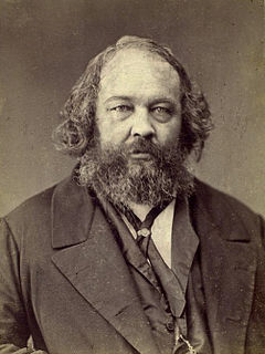 Mikhail Bakunin Russian revolutionary, philosopher, and theorist of collectivist anarchism