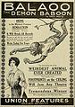Balaoo the Demon Baboon 1913.jpg