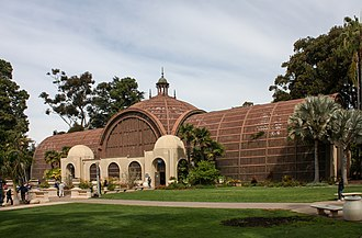 El Prado Complex - Image: Balboa Park Botanical Building 04