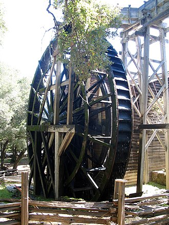 Bale Grist Mill State Historic Park - Image: Bale Mill, CA 128, St. Helena, CA 10 22 2011 12 19 56 PM