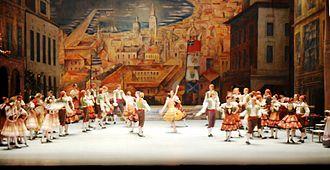 Don Quixote (ballet) - Image: Ballet Don Quichotte acte 1