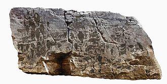 Bangudae Petroglyphs - Bangudae rock images, source: Ulsan Petroglyph Museum