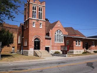 Montpelier, Indiana - Montpelier's First Baptist Church