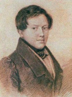 Yevgeny Baratynsky - Portrait, 1826