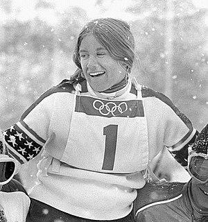 Barbara Cochran - Cochran at the 1972 Olympics