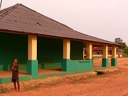 The hospital at Baringa