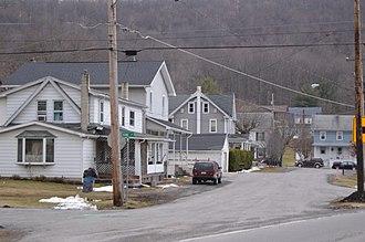 Coalmont, Pennsylvania - Scene along Barnett Road