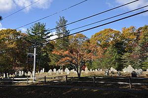 National Register of Historic Places listings in Barnstable, Massachusetts - Image: Barnstable MA Ancient Burying Ground