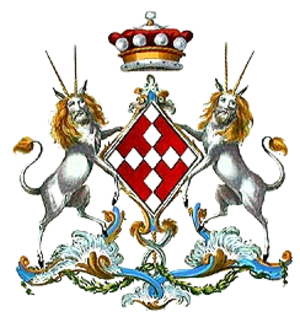 Mary Hill, Countess of Hillsborough - Arms of Lady Hillsborough