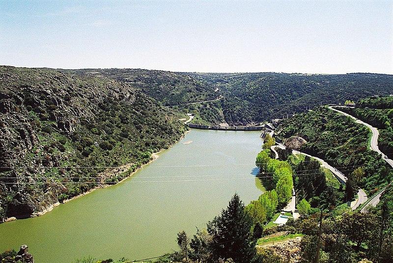 Image:Barragem de Miranda do Douro (Portugal).jpg