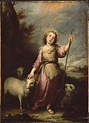 Bartolomé Esteban Murillo - The Young Christ as the Good Shepherd - 58.1425 - Museum of Fine Arts.jpg