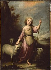 The Young Christ as the Good Shepherd