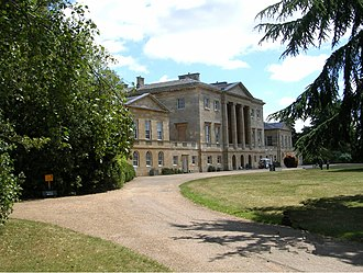 Basildon Park - Basildon Park, the West facade—the corps de logis and north and south flanking pavilions.