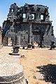 Basilica Complex, Qanawat (قنوات), Syria - East part- view through cella to interior southern façade - PHBZ024 2016 1497 - Dumbarton Oaks.jpg
