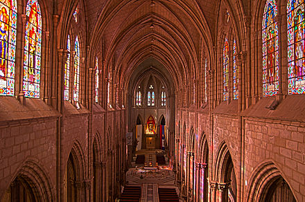 Celestory of the Basilica of the National Vow, Quito, Ecuador Basilica of the National Vow.jpg
