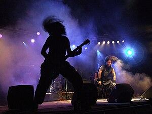 Rock music in Belarus - Rasta at Basovišča, July 22, 2007
