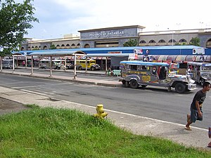 Photo of the Batangas Seaport Terminal, a modern passenger terminal, owned by the province of Batangas.