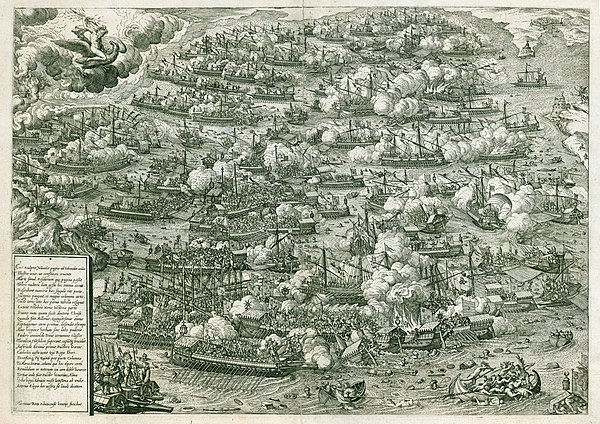 Battle of Lepanto by Martin Rota, 1572 print, Venice Battle of Lepanto by Martin Rota.jpg