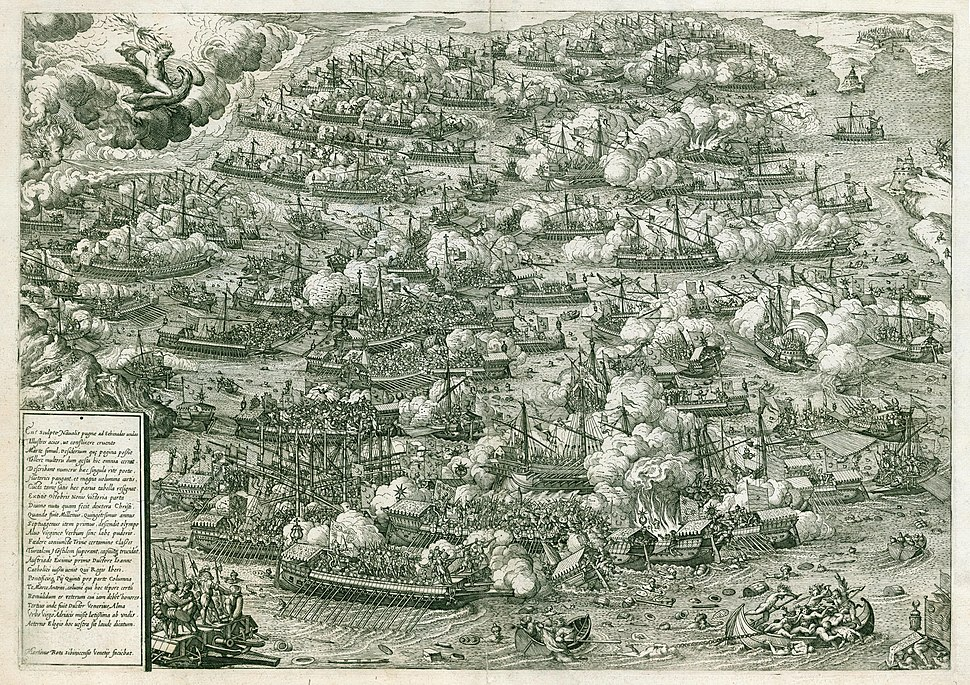 Battle of Lepanto by Martin Rota