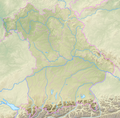 Bavaria relief location map.png