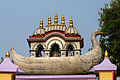 Bazra at the top of door of Calcutta Jain Temple-Pareshnath Mandir-P1080680.jpg