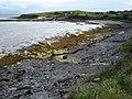 Beach and Pier at Ballyderlan - geograph.org.uk - 920791.jpg