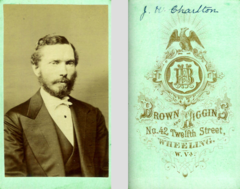 Bearded man by Brown and Higgins of Wheeling West Virginia.png