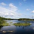 Beautiful lake near the Arctic Circle - panoramio.jpg