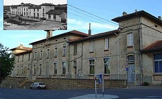Beauvoisin, Gard - Image: Beauvoisin Ecole en 2006 et 1900
