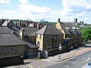 College of St Hild and St Bede, Durham - Some of the original buildings of the College of the Venerable Bede