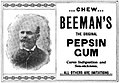 Beemans-gum 1897 ad.jpg