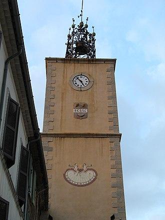 Besse-sur-Issole - The belfry of Besse-sur-Issole
