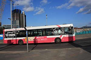 Translink (Northern Ireland) - Metro bus, Belfast, October 2009