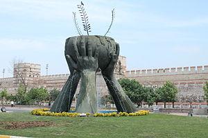 Belgradkapı - Monument at Belgradkapı, Istanbul