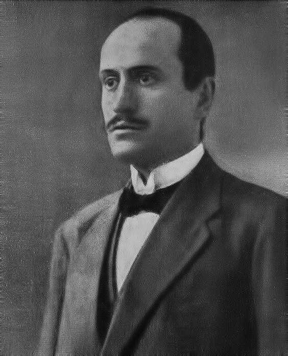 Benito Mussolini PSI