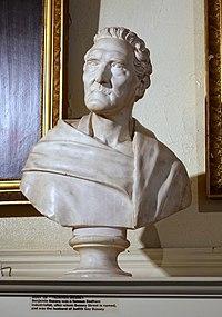 Benjamin Bussey (1757-1842) bust, artist unknown, date unknown - Dedham Historical Society - Dedham Massachusetts - DSC04309.jpg