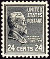 Benjamin Harrison 1938 Issue-24c.jpg