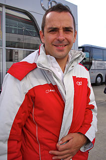 Benoît Tréluyer French racing driver, 2012 Drivers World Endurance Champion