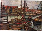 Illustration of Bergen, 1905