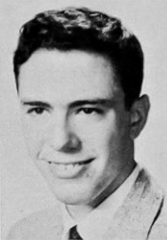 Bernie Sanders - Sanders as a senior in high school, 1959