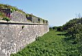 Berry Head fort wall and ditch.jpg