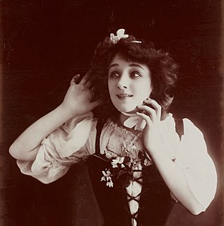 Berthe Bovy Belgian actress