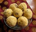 Besan Laddoo Sweets India cropped.jpg