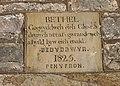 Bethel Chapel Plaque, nr Pantymwyn. - geograph.org.uk - 313799.jpg