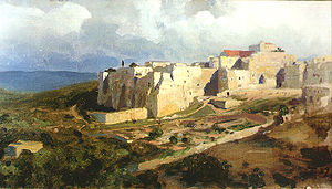 Bethlehem - A painting of Bethlehem by Vasily Polenov, 1882