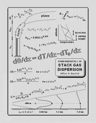 Fundamentals of Stack Gas Dispersion - The book's cover