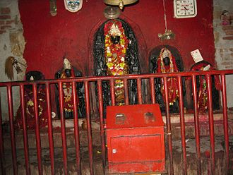 Chatra district - Mother Bhadrakali in a Temple in Chatra district