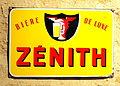 Bière de Luxe Zenith, enamel sign.JPG