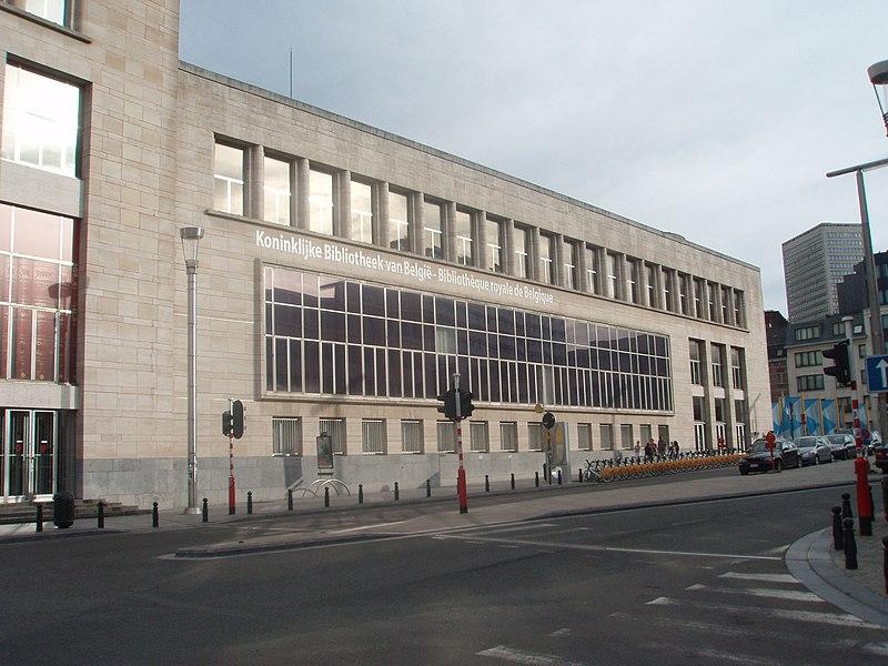 File:Bibliotheque royal de Belgique - panoramio.jpg