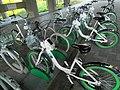 Bicycle-sharing station at Hangang bikeway 3.jpg